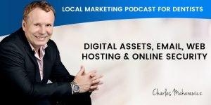 Digital Assets Email Web Hosting and Online Security Podcast Banner