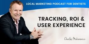Tracking ROI and User Experience Podcast Banner